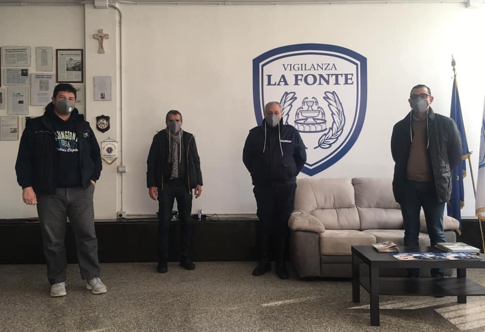 Vigilanza La Fonte per la Tappezzeria Magrone