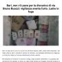 Bari, non c'è pace per la discarica di via Bruno Buozzi: vigilanza sventa furto. Ladro in fuga